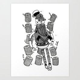 Destruction Art Print