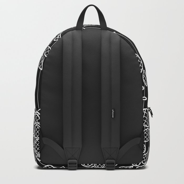 LIVING IN BLACK AND WHITE Backpack