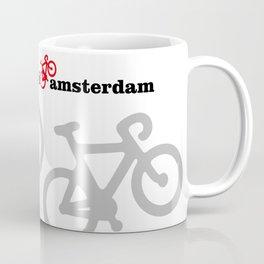 I Love Amsterdam - Red Bike Coffee Mug