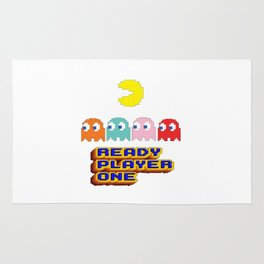 Ready Player One Pac Man Rug