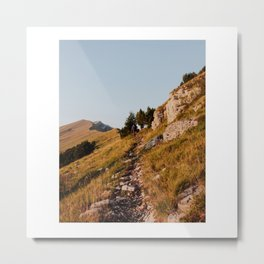 Small Trails Metal Print
