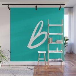 Recettes du Bonheur - Bleu Wall Mural