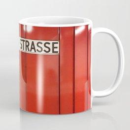 Berlin U-Bahn Memories - Berliner Strasse U7 Coffee Mug