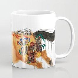 A People on Horseback Coffee Mug