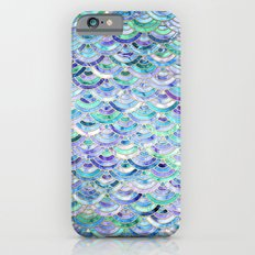 Marble Mosaic in Sapphire and Emerald iPhone 6 Slim Case