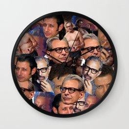 J-GoldenBlub Wall Clock