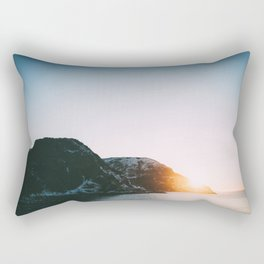 Ocean Sunset Rectangular Pillow