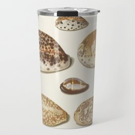 Vintage Seashell Chart II Travel Mug