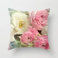 poetry Throw Pillows featuring poetry by Sylvia Cook Photography