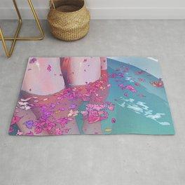 Flower Bath 4 Rug