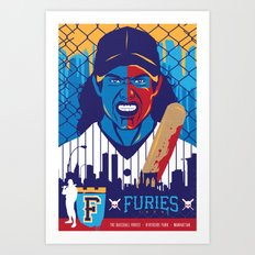 THE WARRIORS :: THE BASEBALL FURIES Art Print