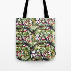 Happy Green Tote Bag
