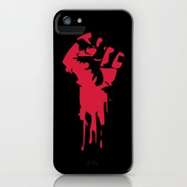 Bloody Fist iPhone Case