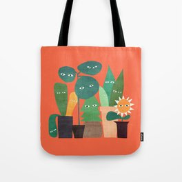 The plants are watching (paranoidos maximucho) Tote Bag