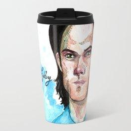 Sam - always keep fighting Travel Mug