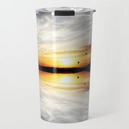 Reflecting Sunset - 3 Travel Mug