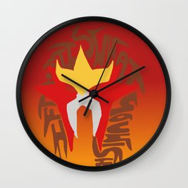 entei Wall Clock