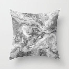Marble Texture - WhiteStone Throw Pillow