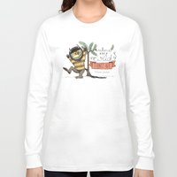 wild things Long Sleeve T-shirts featuring Wild Things by Sofia Verger