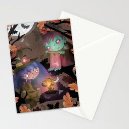 Halloween Hangout Stationery Cards