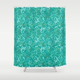 Leafy Greens Shower Curtain