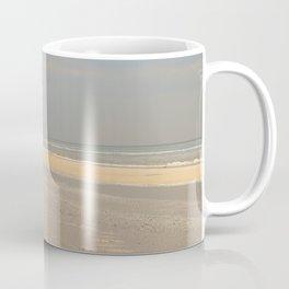 the photographer on the beach Coffee Mug