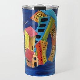 The Floating City Travel Mug