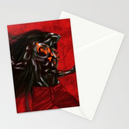 Rem Digital Portrait Stationery Cards