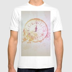 Timeless White Mens Fitted Tee MEDIUM