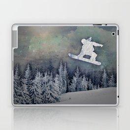 The Snowboarder Laptop & iPad Skin