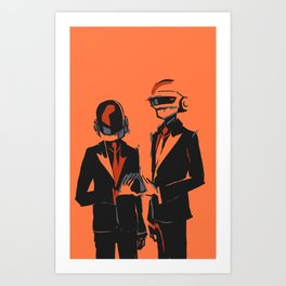 Random Access Memories Art Print