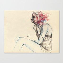 Uncanny Canvas Print