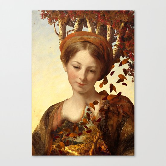 The Great Threshold of Bronze Canvas Print