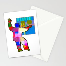 Martial Arts Art Number Three Stationery Cards