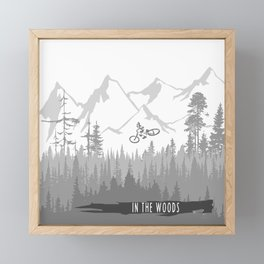 In The Woods Framed Mini Art Print