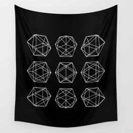 Icosahedron Wall Tapestry