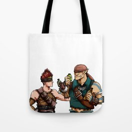 Blank and Marcus Tote Bag