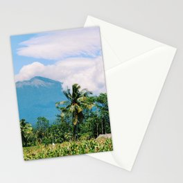 Mount Rinjani in Lombok, Ionesia Stationery Cards