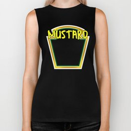 Mustard on tha Beat Hoe! Biker Tank