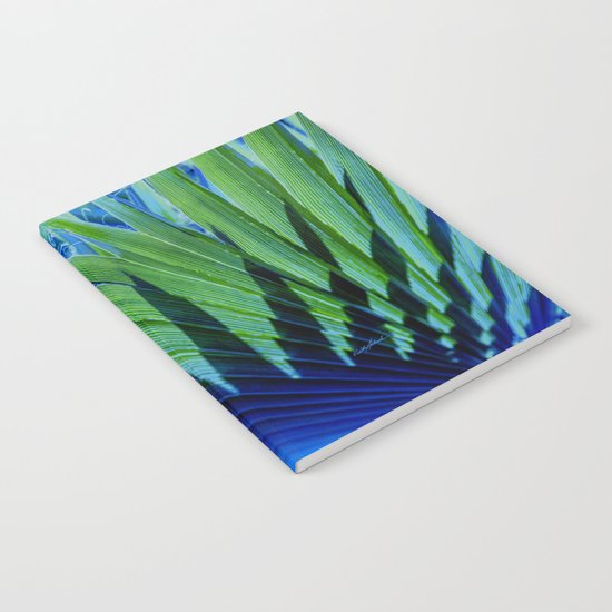 Palm Shadows Notebook