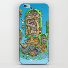 Home on a Tree iPhone Skin