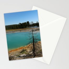 Amazing Hot Spring Colors Stationery Cards