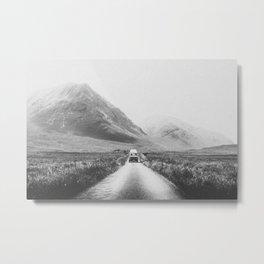 ON THE ROAD XXV / Scotland Metal Print
