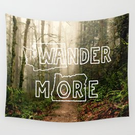 Wander More - Forest Wall Tapestry