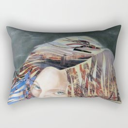 Far away with dreams Rectangular Pillow