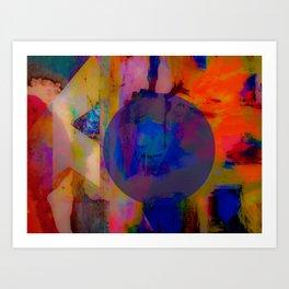 Neon Society Art Print
