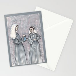 Two Nuns Stationery Cards