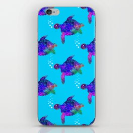 Time For Turtles iPhone Skin