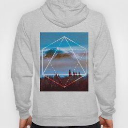 The Elements Geometric Nature Element of Air Hoody