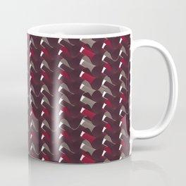 Lovely Dark Red Pattern Coffee Mug
